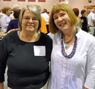 Past Presidents Linda Lawrie and Barbara Rosner