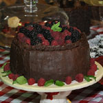 Chocolate Auction Cake