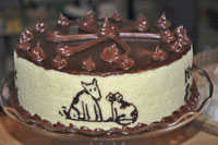 Pagosa Baking Company Chocolate Cake