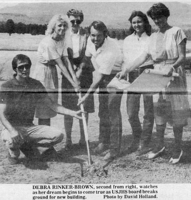 Press Clipping of Shelter Groundbreaking